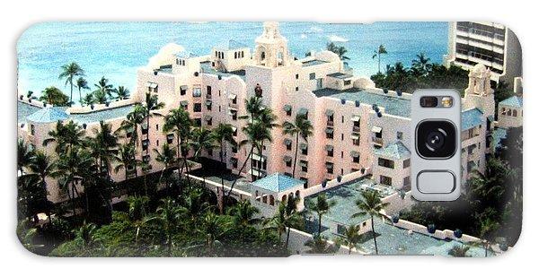 Royal Hawaiian Hotel  Galaxy Case