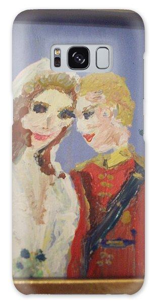 Royal Kiss Galaxy Case by Judith Desrosiers