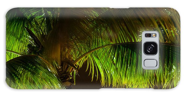 Royal Palm Night Out Galaxy Case