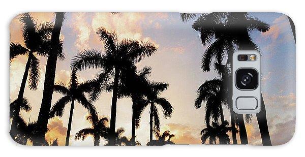 Royal Palm Way Galaxy Case by Josy Cue