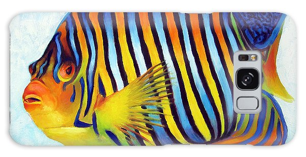 Royal Queen Angelfish Galaxy Case by Nancy Tilles
