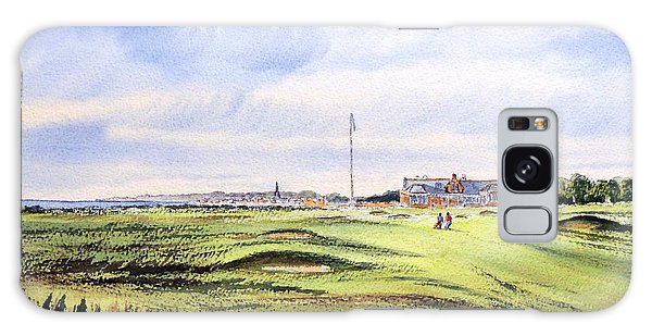 Royal Troon Golf Course Galaxy Case by Bill Holkham