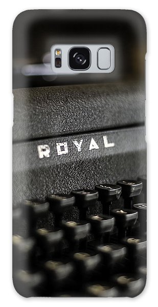 Royal Typewriter #19 Galaxy Case