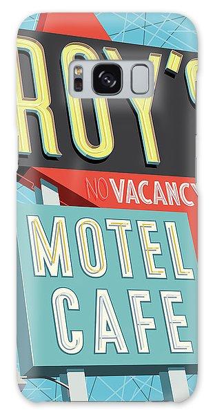 66 Galaxy Case - Roy's Motel Cafe Pop Art by Jim Zahniser