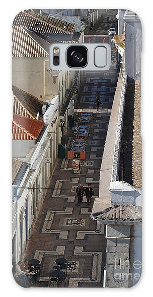 Rua Do Crime In Faro Galaxy Case by Angelo DeVal