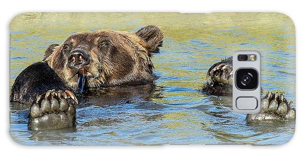 Rub A Dub Dub A Bear In His Tub Galaxy Case