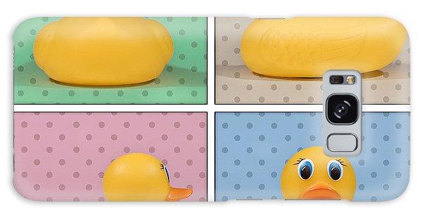 Bath Galaxy Case - Rubber Ducky by Scott Norris