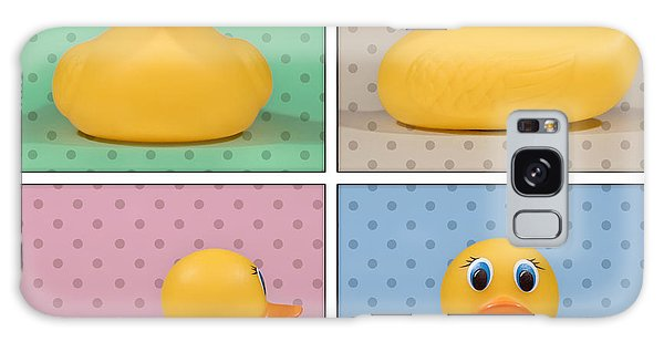 Time Frame Galaxy Case - Rubber Ducky by Scott Norris