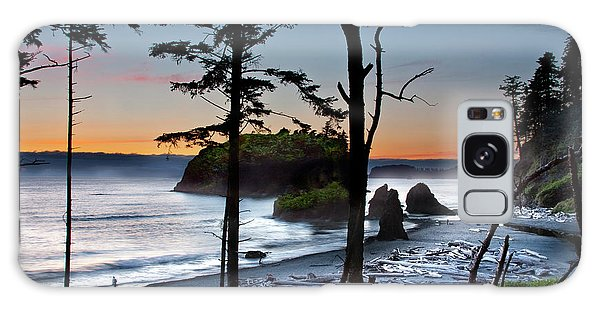Ruby Beach #2 Galaxy Case