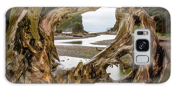 Ruby Beach Driftwood 2007 Galaxy Case