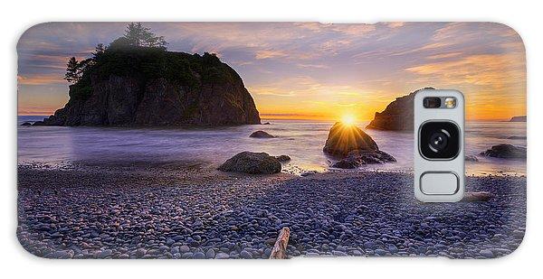 Galaxy Case featuring the photograph Ruby Beach Dreaming by Dan Mihai