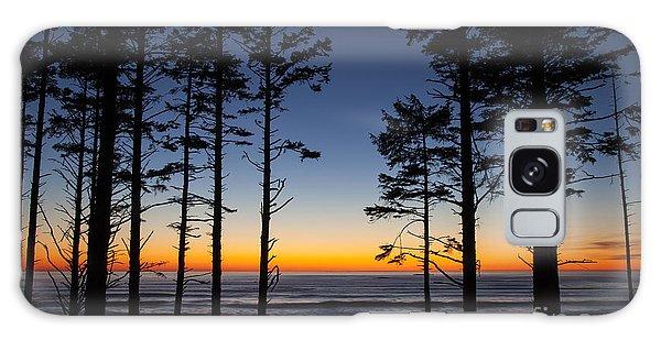 Ruby Beach Trees #4 Galaxy Case