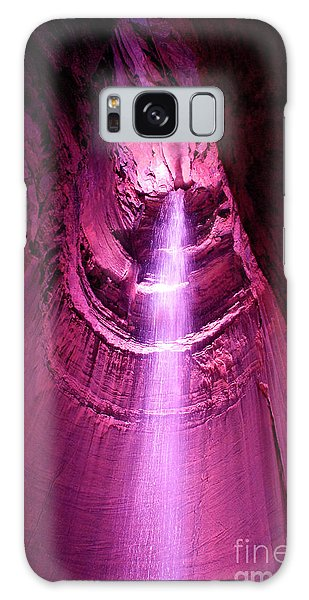 Ruby Falls Waterfall 5 Galaxy Case