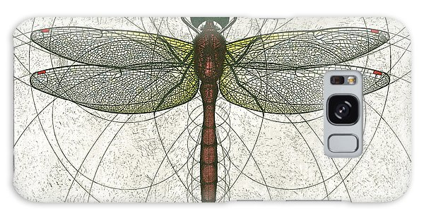 Ruby Meadowhawk Dragonfly Galaxy Case