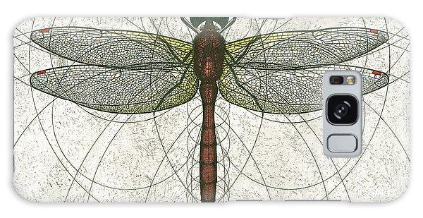 Ruby Meadowhawk Dragonfly Galaxy Case