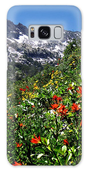 Ruby Mountain Wildflowers - Vertical Galaxy Case