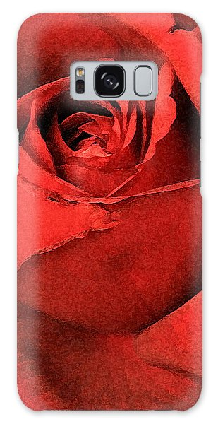 Ruby Rose Galaxy Case by Marna Edwards Flavell