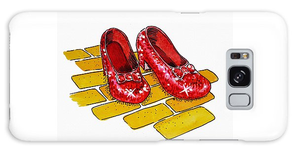 Ruby Slippers The Wizard Of Oz  Galaxy Case