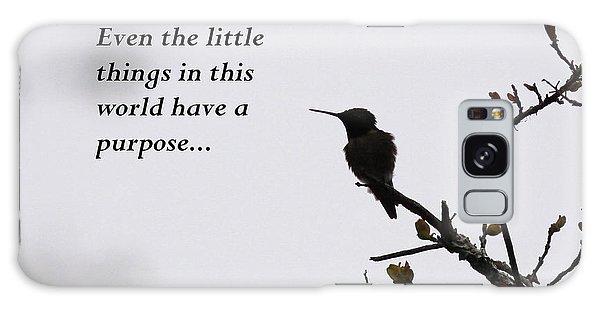 Ruby-throated Hummingbird - Little Things Galaxy Case