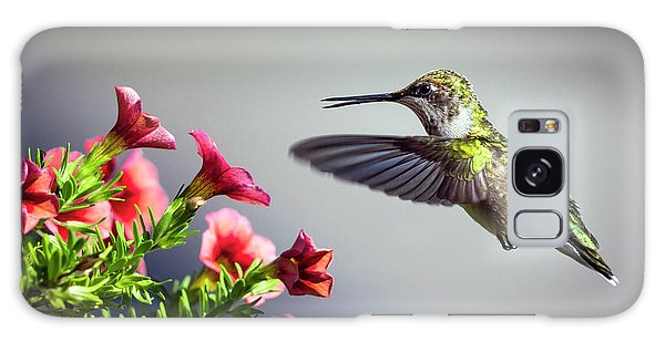 Ruby Throated Hummingbird #1 Galaxy Case