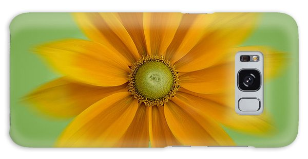 Rudbeckia Blossom Irish Eyes - Square Galaxy Case by Patti Deters