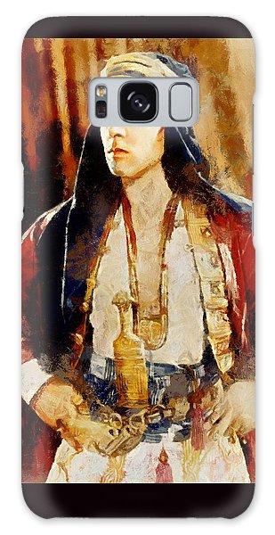 Rudolph Valentino As The Sheikh Galaxy Case