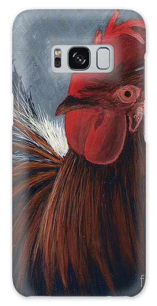 Rudy The Rooster Galaxy Case