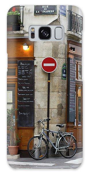 Rue De La Colombe - Paris Photograph Galaxy Case by Melanie Alexandra Price