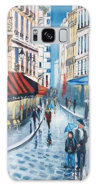 Rue De La Huchette, Paris 5e Galaxy Case