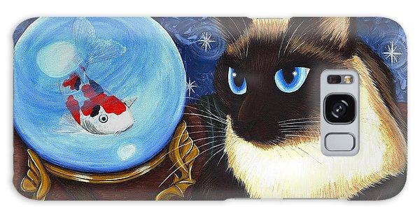 Rue Rue's Fortune - Siamese Cat Koi Galaxy Case