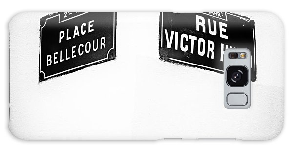 The Corner Of Place Bellecour And Rue Victor Hugo Galaxy Case