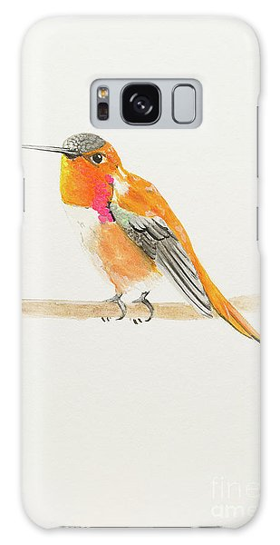 Rufous Hummingbird Galaxy Case