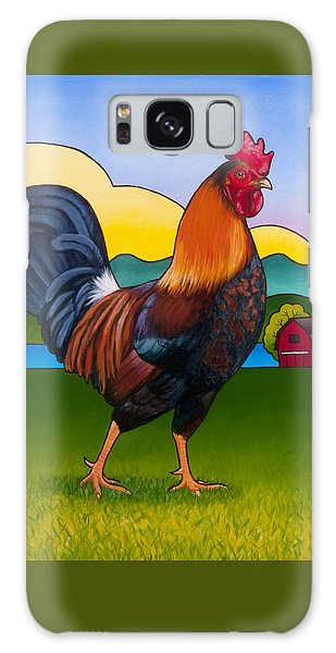 Rufus The Rooster Galaxy Case