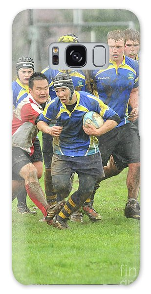 Rugby In The Mud Galaxy Case