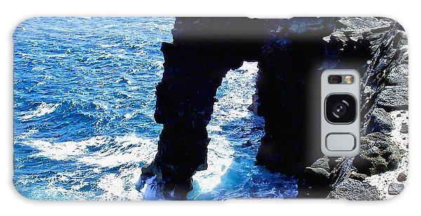 Rugged Kona Sea Arch Galaxy Case by Amy McDaniel