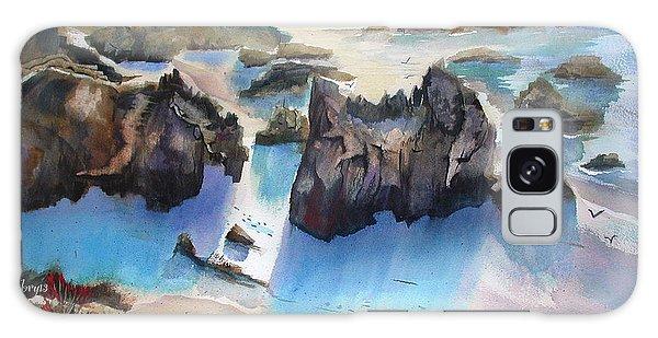 Marin Lovers Coastline Galaxy Case