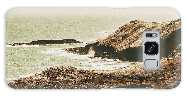 West Bay Galaxy Case - Rugged Rocky Cape by Jorgo Photography - Wall Art Gallery