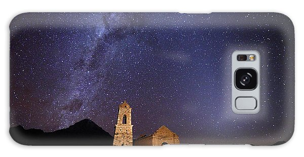 Desert View Tower Galaxy Case - Ruined Church Milky Way And Zodiacal Light Bolivia by James Brunker
