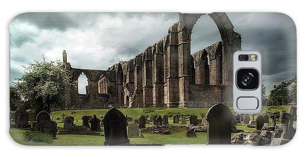 Ruins Of Bolton Abbey Galaxy Case by Jaroslaw Blaminsky