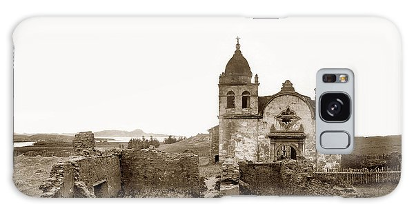 Ruins Of Carmel Mission, Monterey, Cal. Circa 1882 Galaxy Case