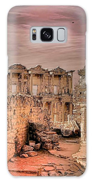 Ruins Of Ephesus Galaxy Case by Tom Prendergast
