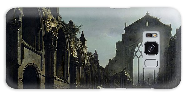 Dracula Galaxy Case - Ruins Of Holyrood Chapel by Louis Jacques Mande Daguerre