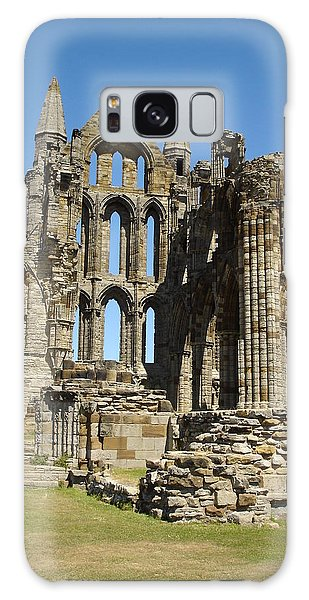 Ruins Of Whitby Abbey Galaxy Case