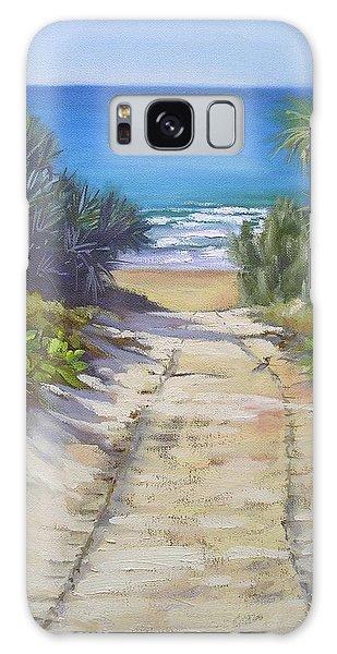Rules Beach Queensland Australia Galaxy Case