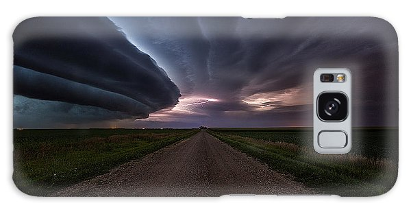 Galaxy Case featuring the photograph Run by Aaron J Groen