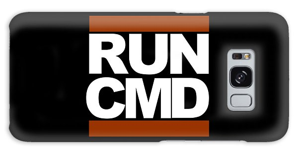 Run Cmd Galaxy Case by Darryl Dalton