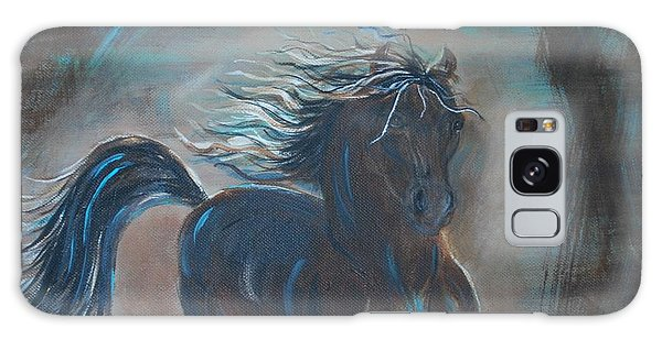 Run Horse Run Galaxy Case by Leslie Allen