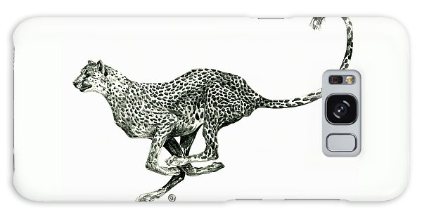 Running Cheetah Galaxy Case