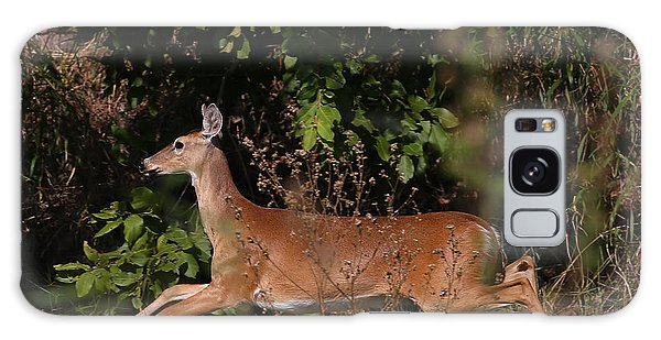 Galaxy Case featuring the photograph Running Deer by Dart and Suze Humeston