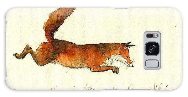 Running Fox Galaxy Case